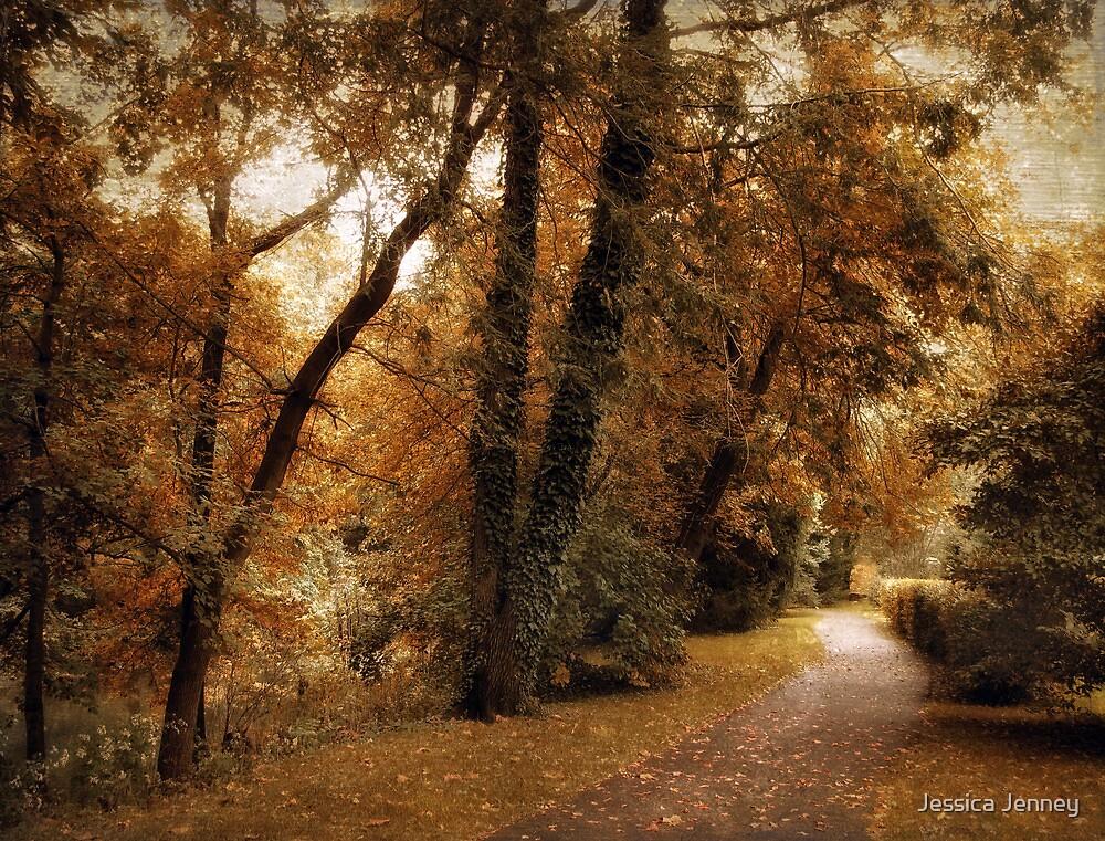 Woodland Path by Jessica Jenney