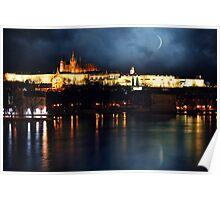 Prague night Poster