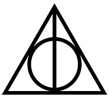 Sign of the Deathly Hallows Photographic Print