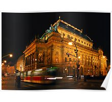 Prague theatre Poster