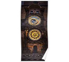 Prague Orloj Poster