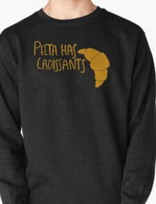 Peeta Has Croissants (Yellow Design) T-Shirt