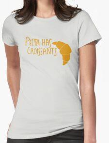 Peeta Has Croissants - Yellow T-Shirt