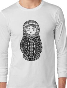 Russian Nesting Doll Long Sleeve T-Shirt