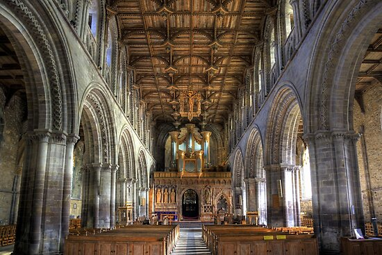 St David's Cathedral  by Kevin Cotterell