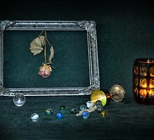 Framed Rose by Carina514