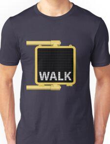 New York Crosswalk Sign Walk Unisex T-Shirt
