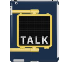 New York Crosswalk Sign Talk iPad Case/Skin