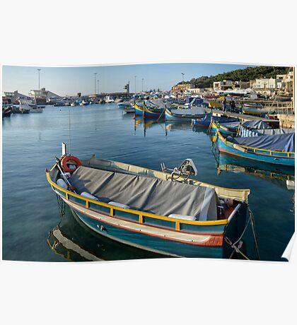 Mgarr Harbour Poster