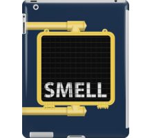 New York Crosswalk Sign Smell iPad Case/Skin