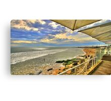 lunch view Canvas Print