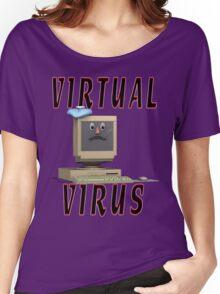 Virtual Virus Women's Relaxed Fit T-Shirt