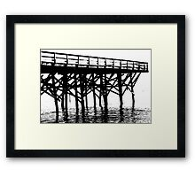 On the Beach #18 Framed Print