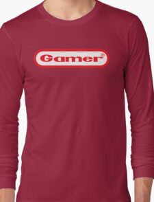 Gamer Shirt Design Long Sleeve T-Shirt