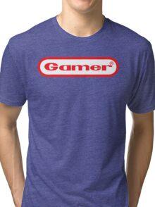Gamer Shirt Design Tri-blend T-Shirt