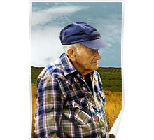 American Farmer Poster