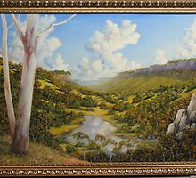 BILLABONG UNDER THE ESCARPMENTS by John Cocoris