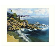 Key Hole Arch En plein air Art Print