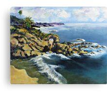 Key Hole Arch En plein air Canvas Print