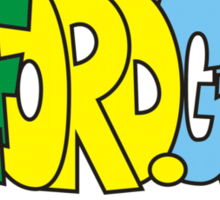 Salford G-Mcr Sticker