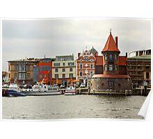 MVP24 Stralsund Harbour, Germany. Poster