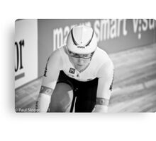 Anna Meares Triple World Champion Canvas Print