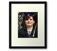 Beautifully In The Black Framed Print