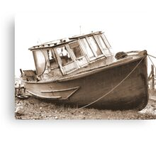 Abandoned Wreck Canvas Print