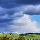 Stormy Hills by shell4art