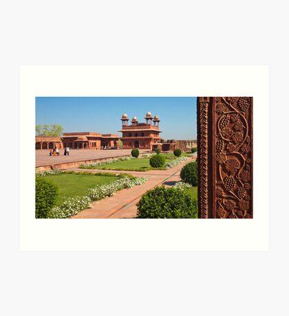 Fatehpur Sikri Courtyard Art Print