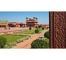 Fatehpur Sikri Courtyard Photographic Print