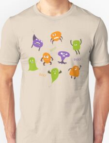 Colorful funny monsters Unisex T-Shirt