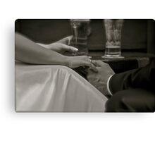 Wedding Feelings .  Ave Maria - Banod (violinch/Gou & harp). Amen. Views 1188 . Thanks a bunch !!! Canvas Print