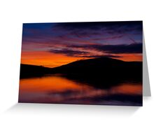 Dingle Sunset Greeting Card