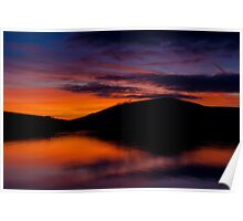 Dingle Sunset Poster