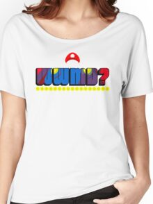 What Would Mario Do? Women's Relaxed Fit T-Shirt