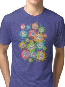 Splat Festival Tri-blend T-Shirt