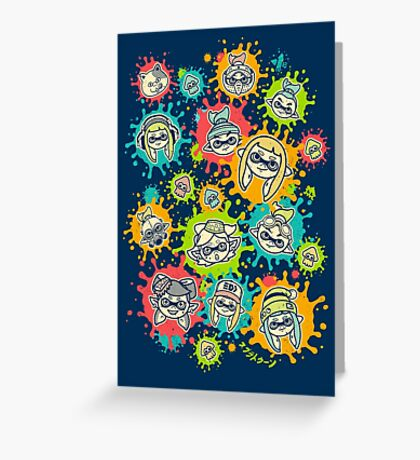 Splat Festival Greeting Card