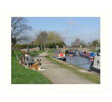 Trent & Mersey Canal, Willington Art Print
