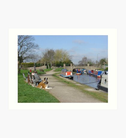 Trent & Mersey Canal, Willington Art Print