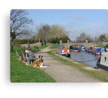 Trent & Mersey Canal, Willington Canvas Print