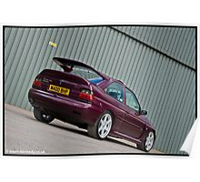 Escort Cosworth Monte - Rear Shot Poster
