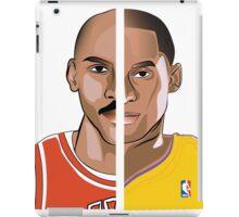 Jordan Kobe // Michael Jordan and Kobe Bryant iPad Case/Skin