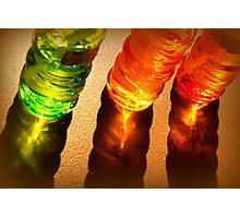 Bubble Bottles Photographic Print