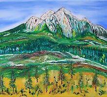 FootHills in the Spring by James Bryron Love