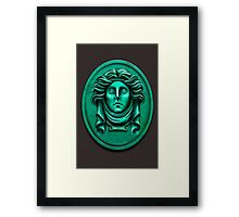 Madame L Headstone by Topher Adam Framed Print