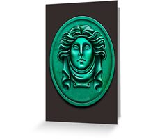 Madame L Headstone by Topher Adam Greeting Card