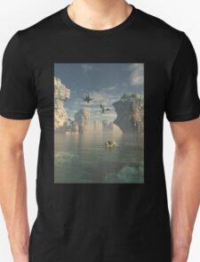 Dragon Cliffs Unisex T-Shirt