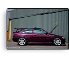 Escort Cosworth Monte - Side Shot Canvas Print