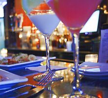 Blue Martinis for Two by naturalexp